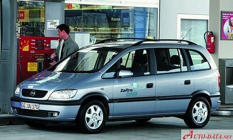 1999 Opel Zafira A T3000 1 8 16v 125 Hp Ficha Tecnica Y