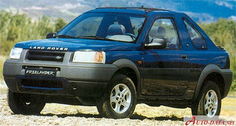 1998 Land Rover Freelander Soft Top - Фото 1