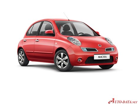 nissan - micra (k12) - 1.2 i 16v (80 hp) - technical specifications
