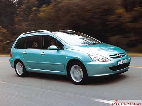 peugeot - 307 station wagon - 1.6 hdi (109 hp) - teknik özellikler