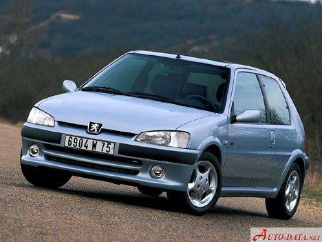 Peugeot - 106 - Technical specifications, Fuel economy (consumption)