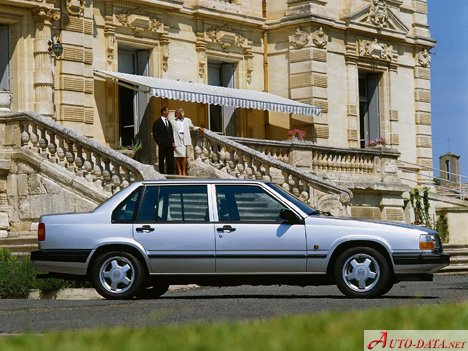 Volvo 940 (944) 2.0 i 16V Turbo (190 Hp) - Technical Specs, Fuel consumption, Dimensions