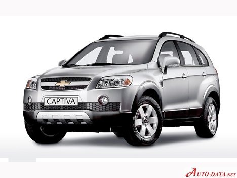 Chevrolet Captiva I 20 Vcdi 150 Hp Technical Specifications