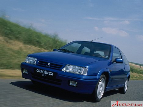 Citroen ZX (N2) 1.4 i (75 Hp) - Technical Specs, Fuel consumption, Dimensions