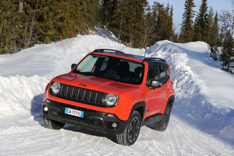Jeep Renegade 2.0 MultiJet (140 Hp) 4x4 Automatic start&stop - Technical Specs, Fuel consumption, Dimensions