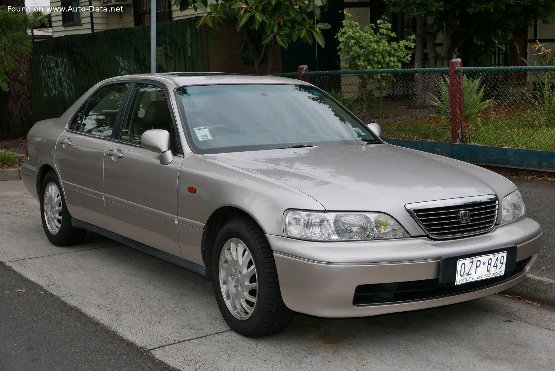 1996 Honda Legend III (KA9)   Technical Specs, Fuel ...