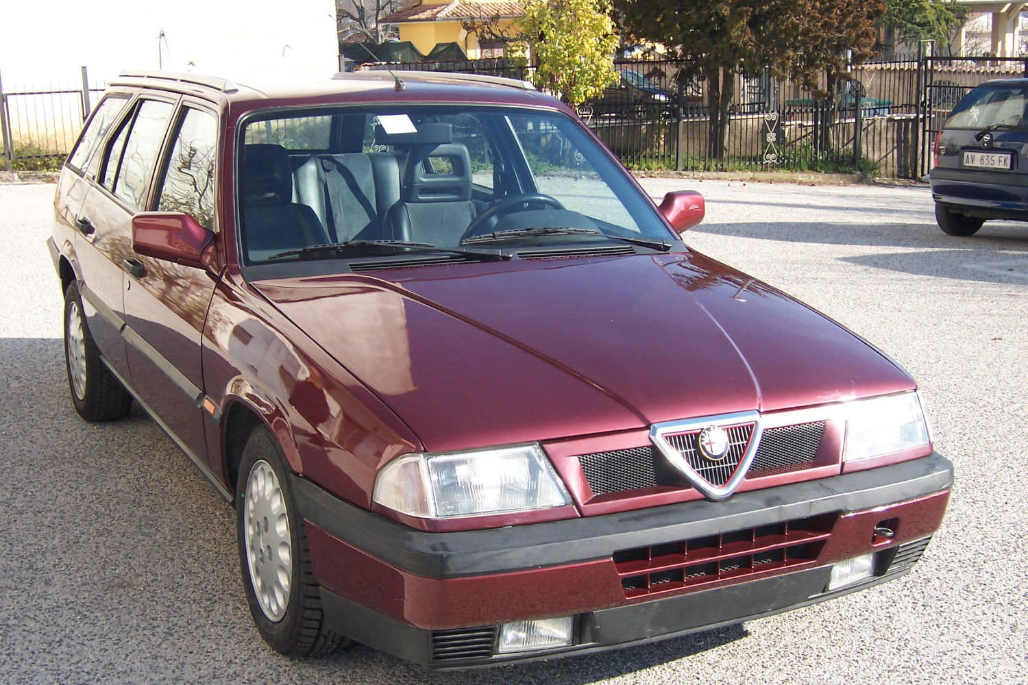 1990 Alfa Romeo 33 Sport Wagon 907b 1 7 16v 129 Hp Technical Specs Data Fuel Consumption Dimensions