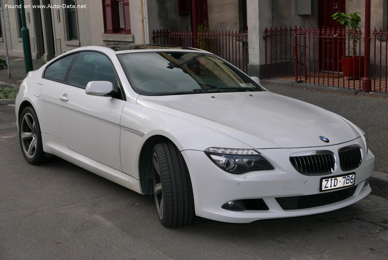 2007 Bmw 6 Series E63 Facelift 2007 630i 272 Hp Automatic Technical Specs Data Fuel Consumption Dimensions