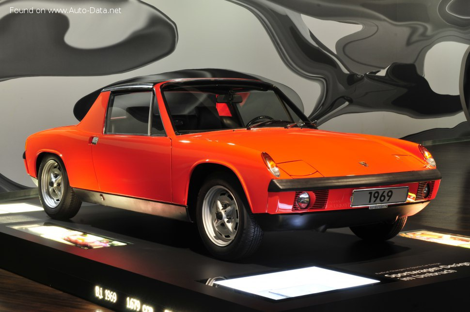 VW-Porsche 914 1.8 (86 Hp) - Technical Specs, Fuel consumption, Dimensions