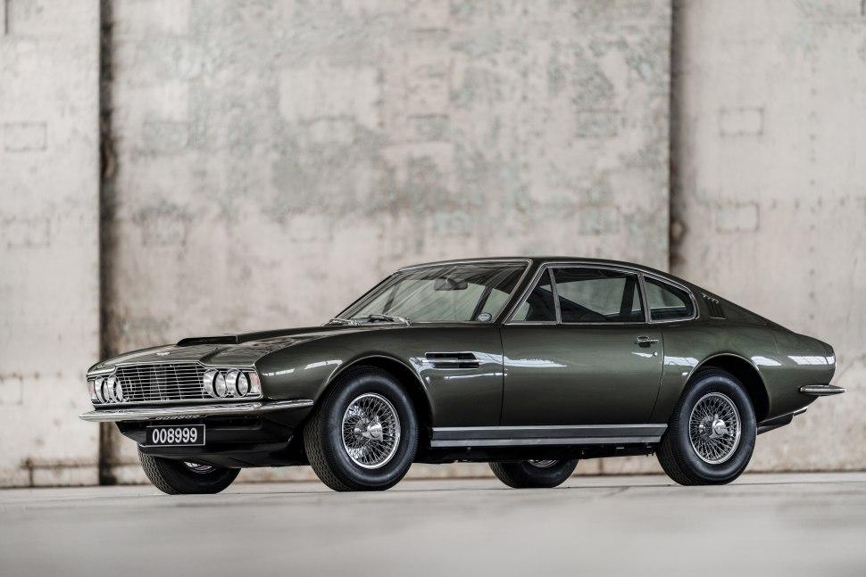 1970 Aston Martin Dbs V8 Technische Daten Verbrauch Maße