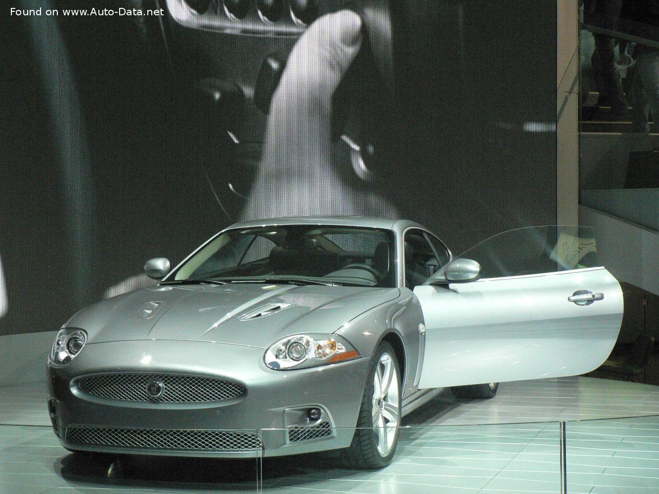 2006 Jaguar Xk Coupe X150 Xkr 4 2 V8 416 Hp Automatic Technical Specs Data Fuel Consumption Dimensions