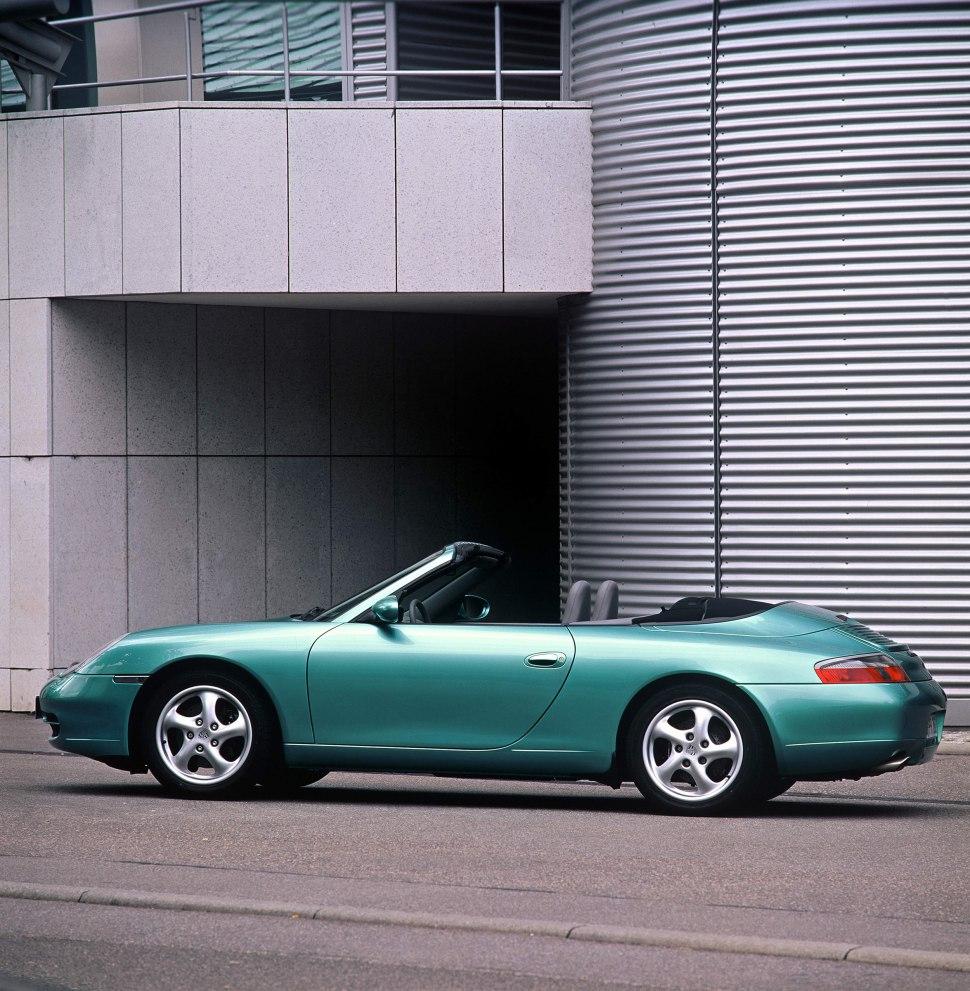 Porsche 996 Engine Hp: Porsche 911 Cabriolet (996) - 1998