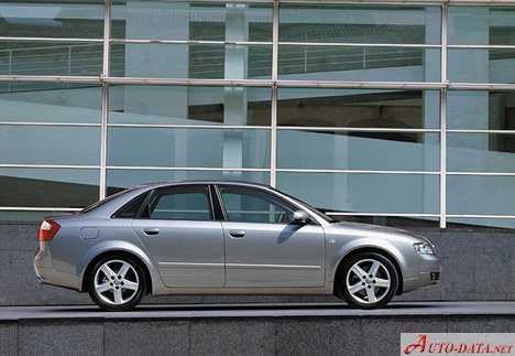 Audi A4 B6 8e 2000 19 Tdi 130 Hp Technical Specifications