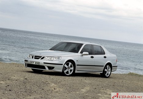 Saab 9-5 (facelift 2001) 3.0 TiD (176 Hp) - Technical Specs, Fuel consumption, Dimensions