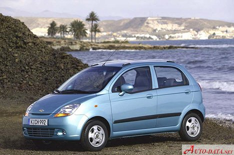 2005 Chevrolet Spark Ii 0 8 I 52 Hp Technical Specs Data