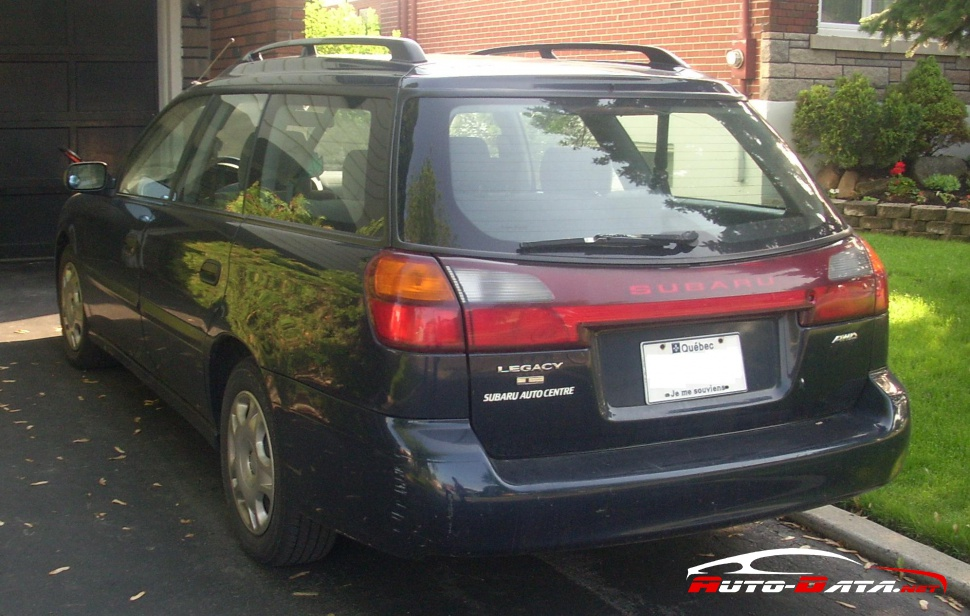 2001 Subaru Legacy III Station Wagon (BE,BH, facelift 2001) - Фото 1