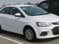 Chevrolet Sonic I Sedan (facelift 2016) 1.8 (138 Hp)