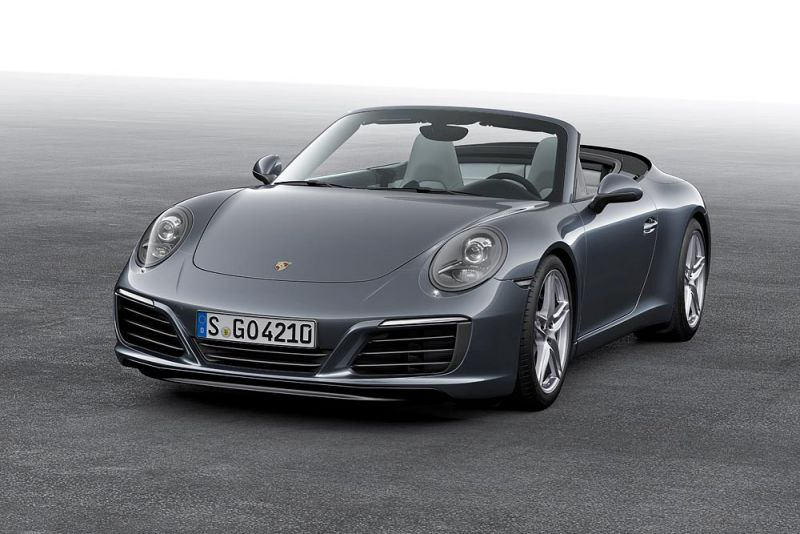 Porsche 911 Cabriolet (991 II) Turbo 3.8 (540 Hp) AWD PDK - Technical Specs, Fuel consumption, Dimensions