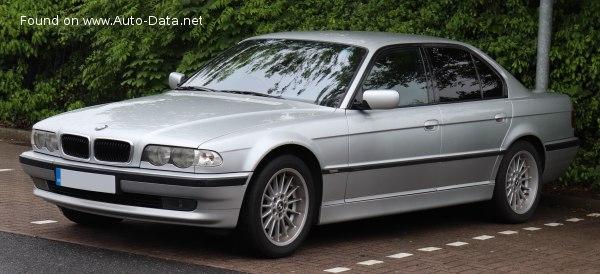 2000 Bmw 7 Series E38 Facelift 1998 730d 193 Hp Steptronic Technical Specs Data Fuel Consumption Dimensions