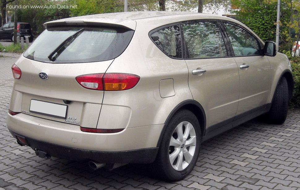 2006 Subaru B9 Tribeca 3 0i 250 Ps Awd Sportshift Technische Daten Verbrauch Spezifikationen Maße