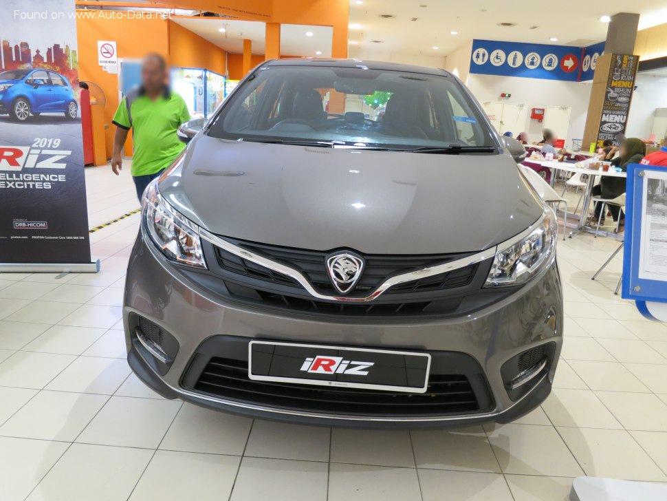 2019 Proton Iriz Facelift 2019 1 6 109 Hp Cvt Technical