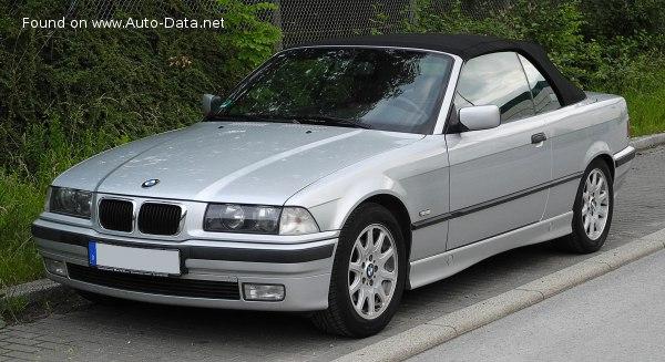 1995 Bmw 3 Series Convertible E36 328i 193 Hp Technical Specs Data Fuel Consumption Dimensions