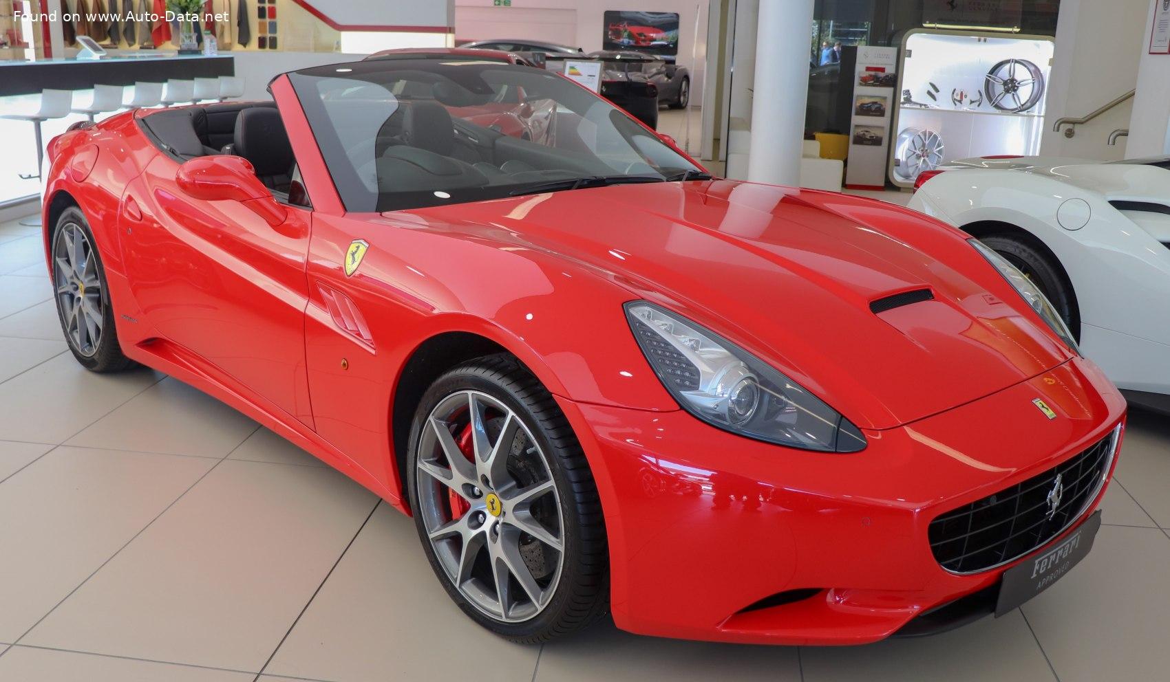 2012 Ferrari California 4 3 V8 490 Ps Technische Daten Verbrauch Spezifikationen Maße