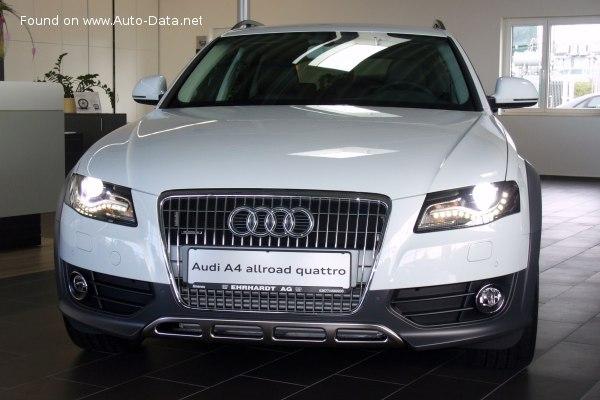 2009 Audi A4 Allroad B8 8k 3 0 Tdi V6 240 Hp Quattro S Tronic Dpf Technical Specs Data Fuel Consumption Dimensions