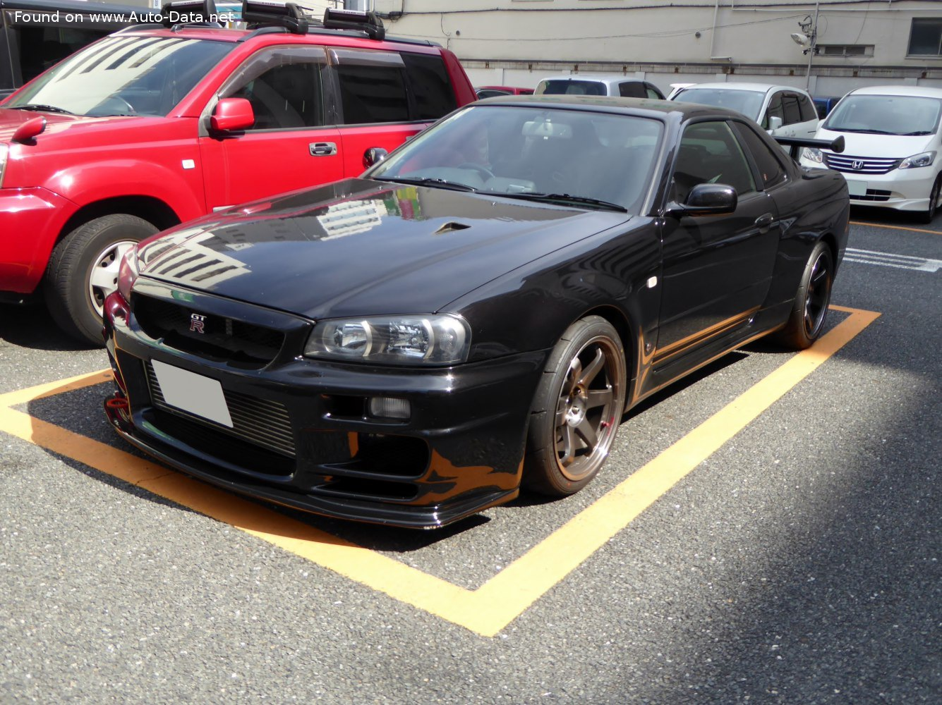 1999 Nissan Skyline Gt R X R34 2 6 I 24v Turbo 4wd 280 Hp Technical Specs Data Fuel Consumption Dimensions