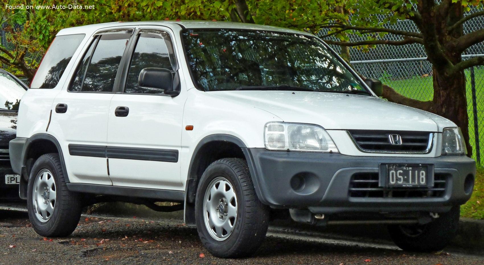 1995 Honda Cr V I Rd 2 0 16v Rd1 128 Hp Technical Specs Data Fuel Consumption Dimensions