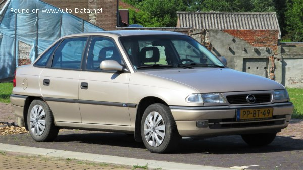 1994 Opel Astra F Classic (facelift 1994) - Fotoğraf 1