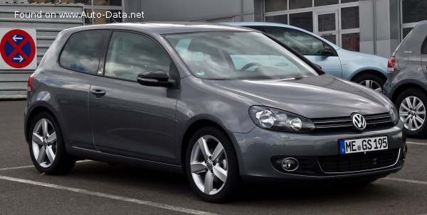 2009 Volkswagen Golf VI (3-door) - Снимка 1
