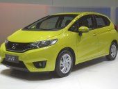Honda Fit - yellow, front view