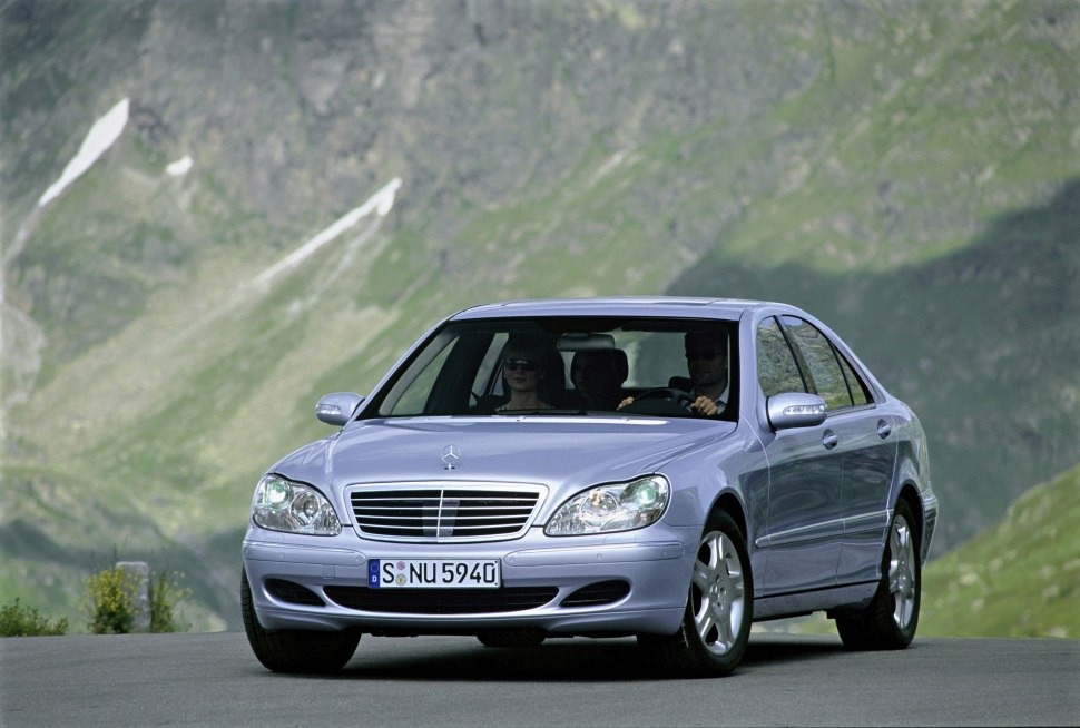 Mercedes-Benz S-class (W220, facelift 2002) S 350 (245 Hp) 4MATIC G-TRONIC - Technical Specs, Fuel consumption, Dimensions