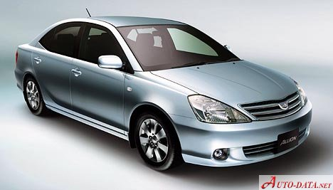 Toyota Allion 1 5 16v 109 Hp Technical Specifications Fuel