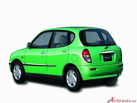 toyota duet (m10) 1 0 i 12v (60 hp)   technical specs, data, fuel  consumption, dimensions