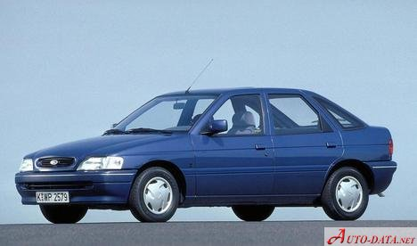 1993 Ford Escort VI Hatch (GAL) - εικόνα 1