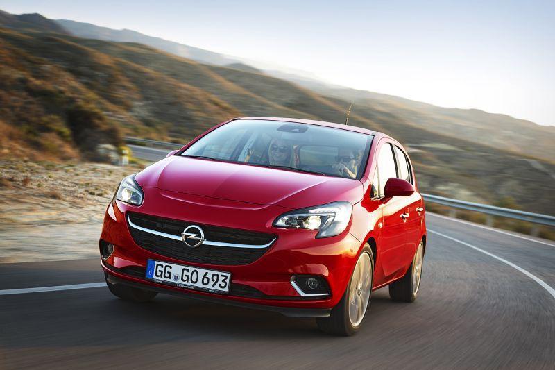 Opel corsa gas mileage