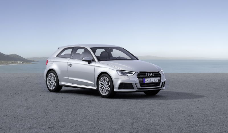 Audi A3 (8V facelift 2016) 1.0 TFSI (115 Hp) S tronic - Fiche technique, Consommation de carburant, Dimensions