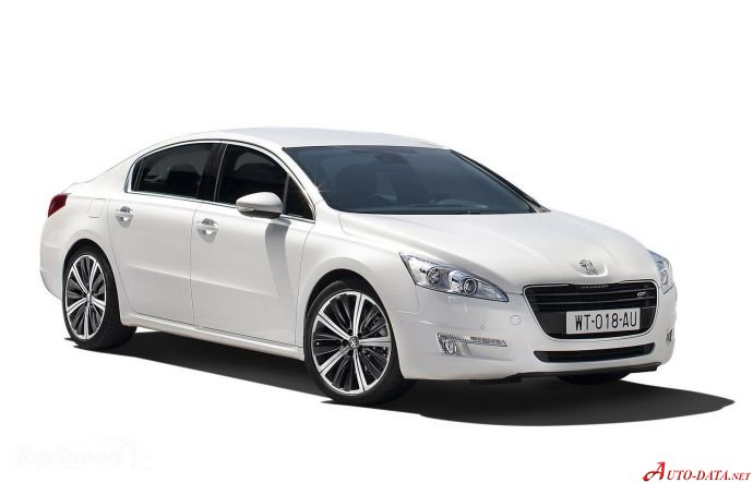 Peugeot 508 1.6 VTi (120 Hp) - Technical Specs, Fuel consumption, Dimensions