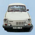 Technical specifications and fuel economy of Trabant 1.1