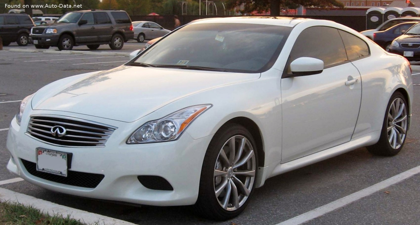 2009 Infiniti G37 Coupe 3 7 V6 320 Hp Automatic Technical Specs Data Fuel Consumption Dimensions
