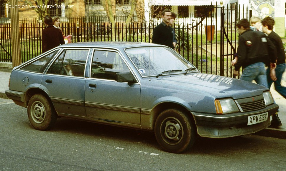 Vauxhall Cavalier Mk II CC 1.8i (112 Hp) - Technical Specs, Fuel consumption, Dimensions