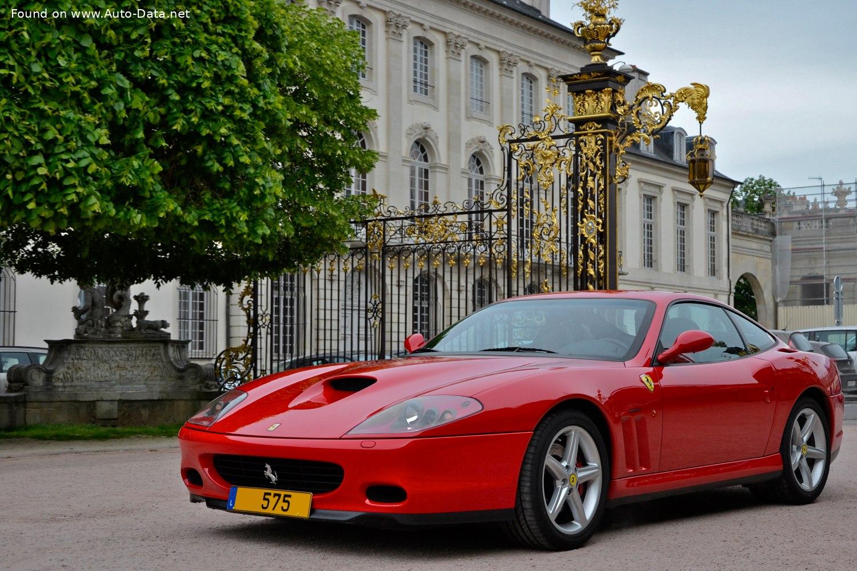 2004 Ferrari 575m Maranello 575m Superamerica 540 Ps Technische Daten Verbrauch Spezifikationen Maße