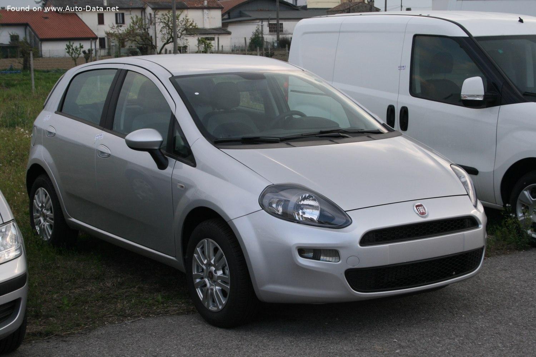 Fiat Punto Technical Specs Fuel Consumption Dimensions