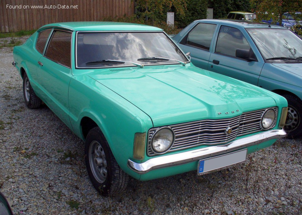 Ford Taunus Coupe (GBCK) 1300 (54 Hp) - Technical Specs, Fuel consumption, Dimensions