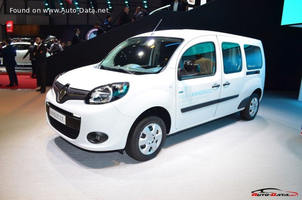 2013 Renault Grand Kangoo II (facelift 2013) - Снимка 1