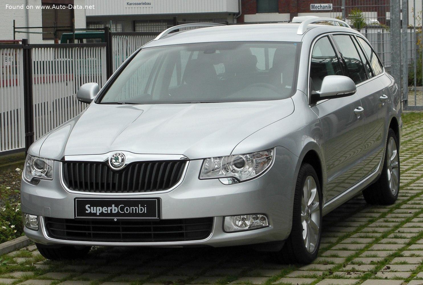 2008 Skoda Superb Ii Combi 1 8 Tsi 158 Hp Technical Specs Data Fuel Consumption Dimensions