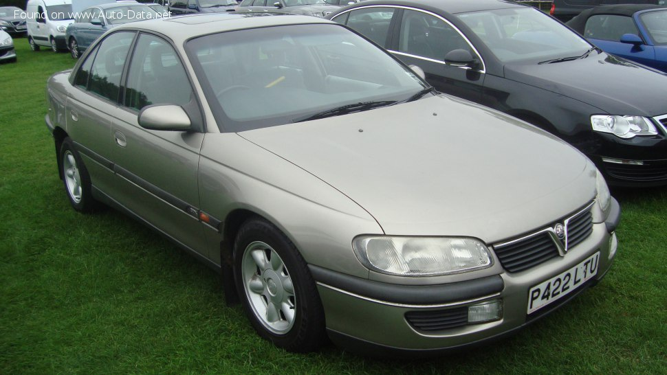 Vauxhall Omega B 3.0i V6 24V (211 Hp) Automatic - Technical Specs, Fuel consumption, Dimensions
