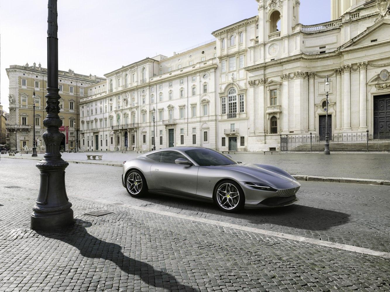 2020 Ferrari Roma 3 9 V8 620 Ps Dct Technische Daten Verbrauch Spezifikationen Maße